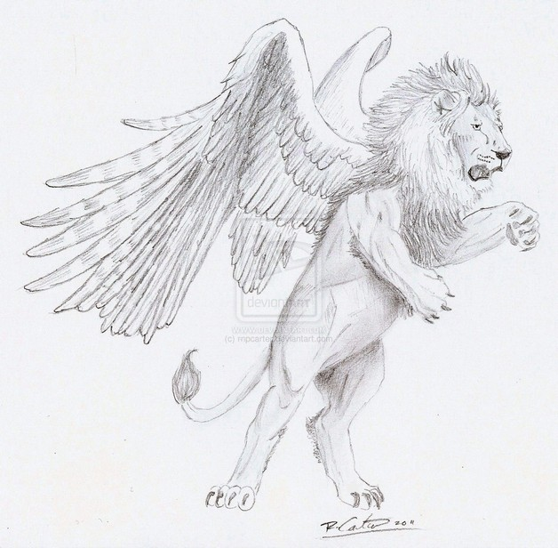 Diamond With Wings Tattoo Drawing  All Tattoos ForMen