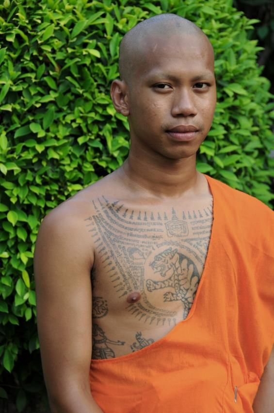 Buddhist Symbol Tattoo