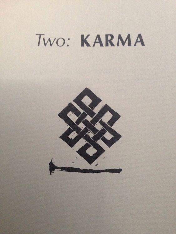 Buddhist symbol for the infinite network of interrelationships between all forms of. Karma Tattoo ...