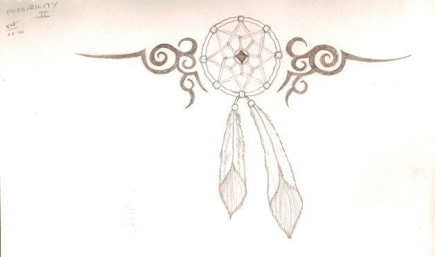 Again dream catcher tattoo stencil all tattoos for men stencil dream catcher tattoo for men pronofoot35fo Choice Image