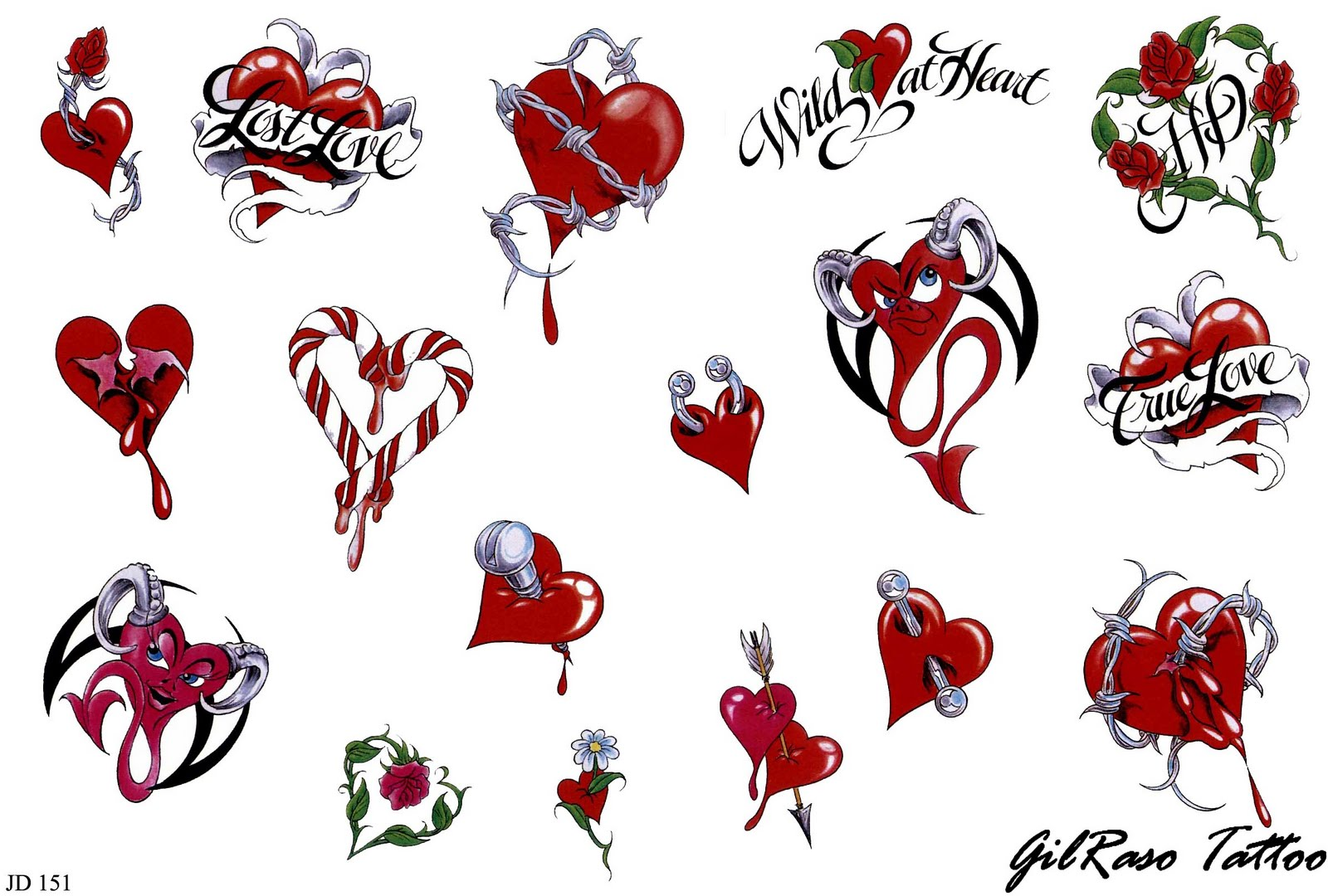 Heart Drawings With Banner