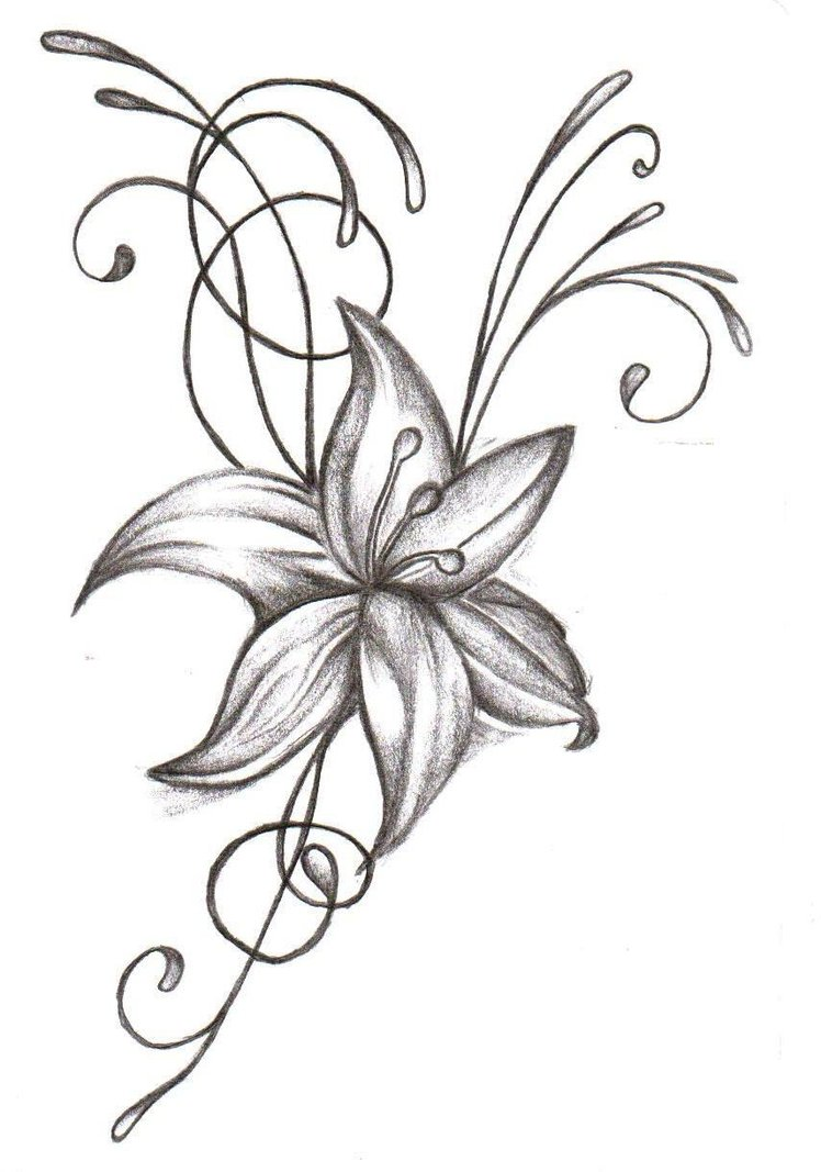 Hawaiian flowers n skull tattoo on half sleeve half sleeve frog n flowers tattoo design izmirmasajfo Choice Image