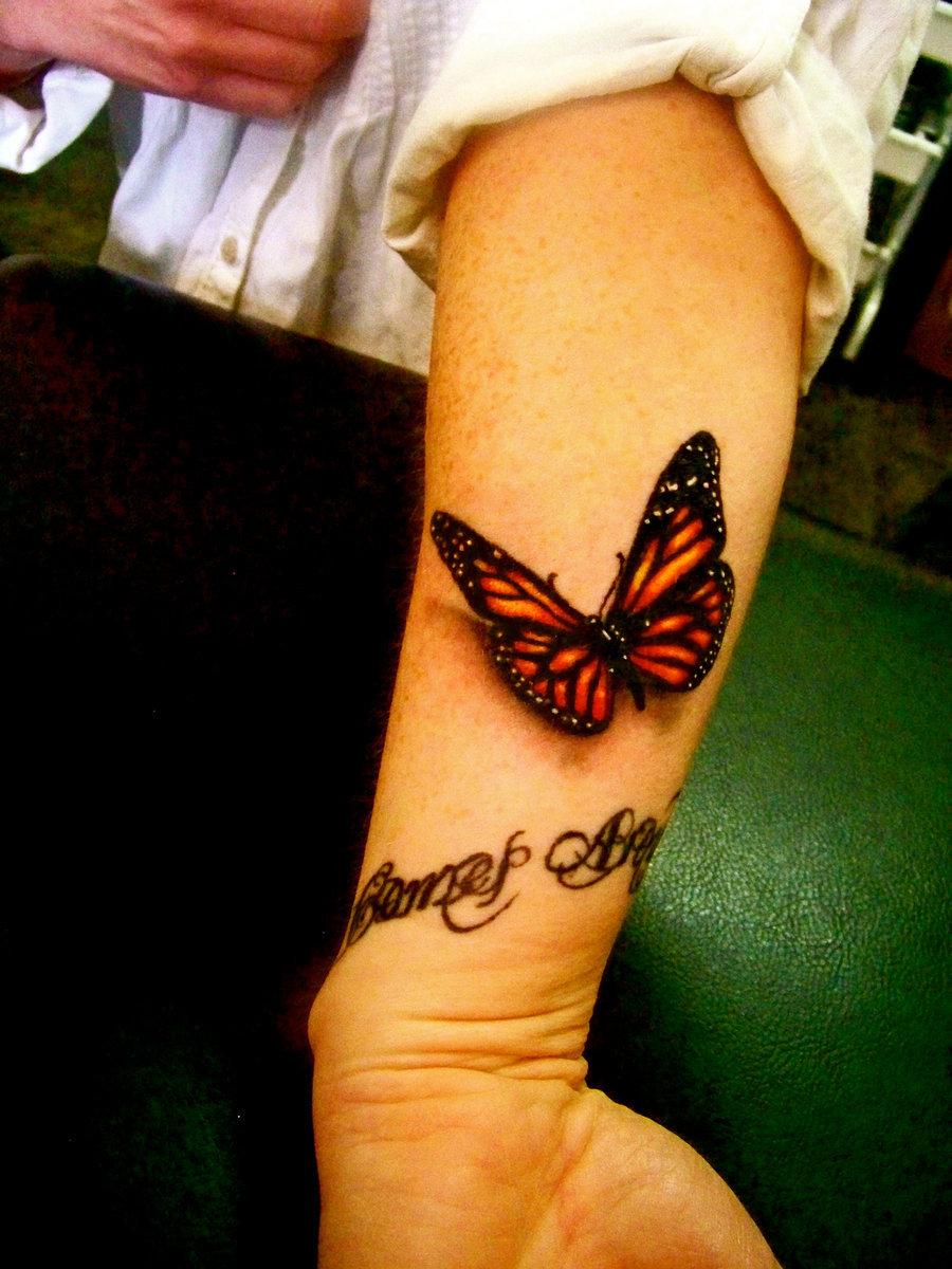 Татуировки 3D - фотографии работ