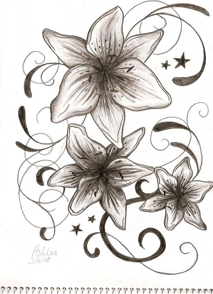 New Fairy Moon And Stars Tattoo Designs