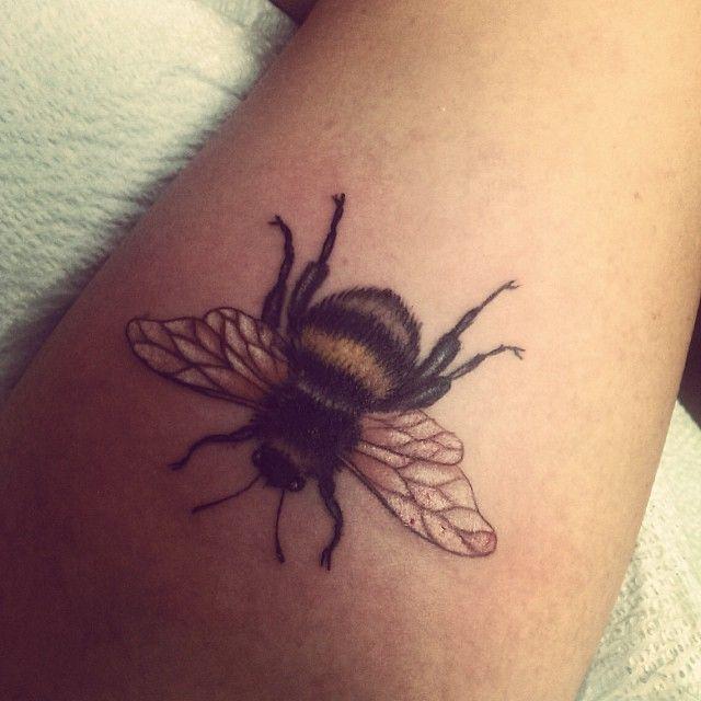 Brilliant Bumble Bee Tattoo