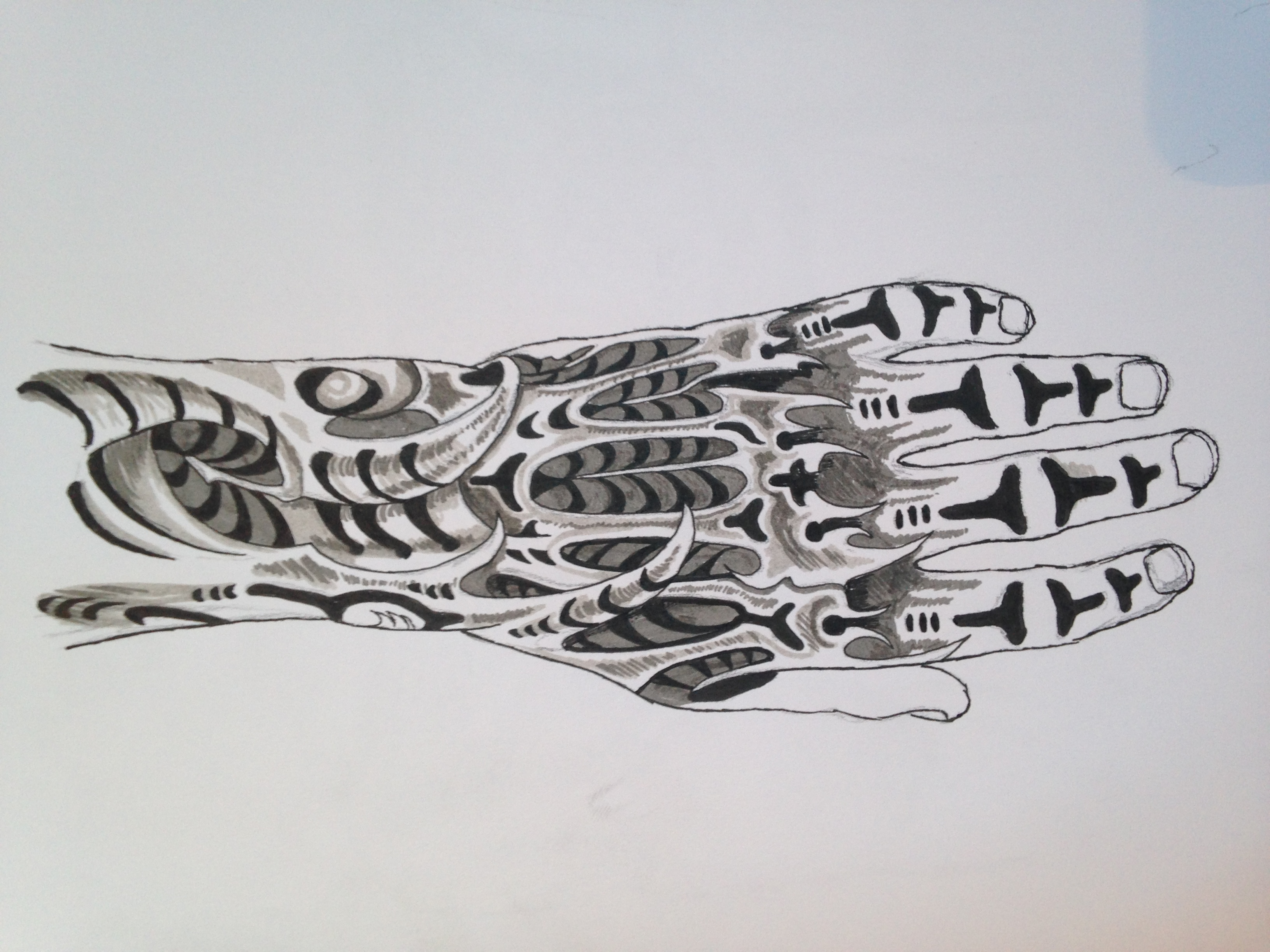 Hand tattoo sketches for Tattoo sketches for men
