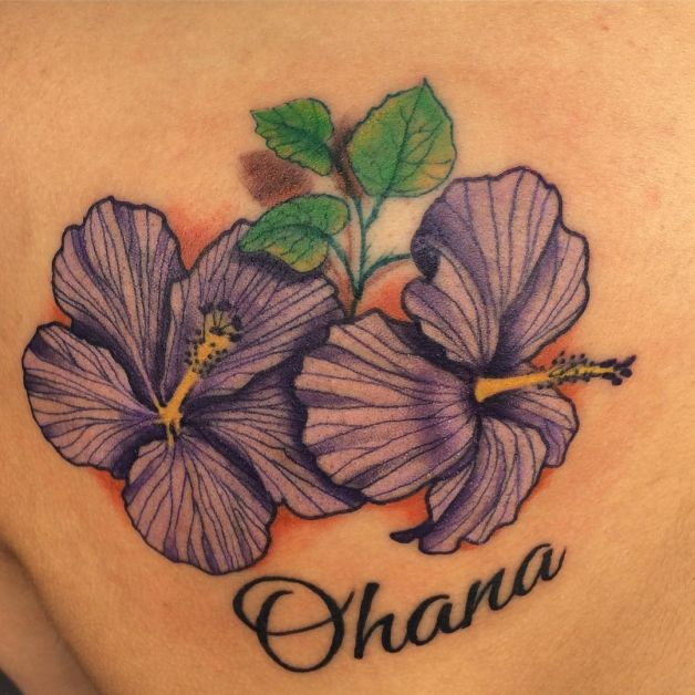 hawaiian flower tattoo design photo 1 all tattoos for men. Black Bedroom Furniture Sets. Home Design Ideas