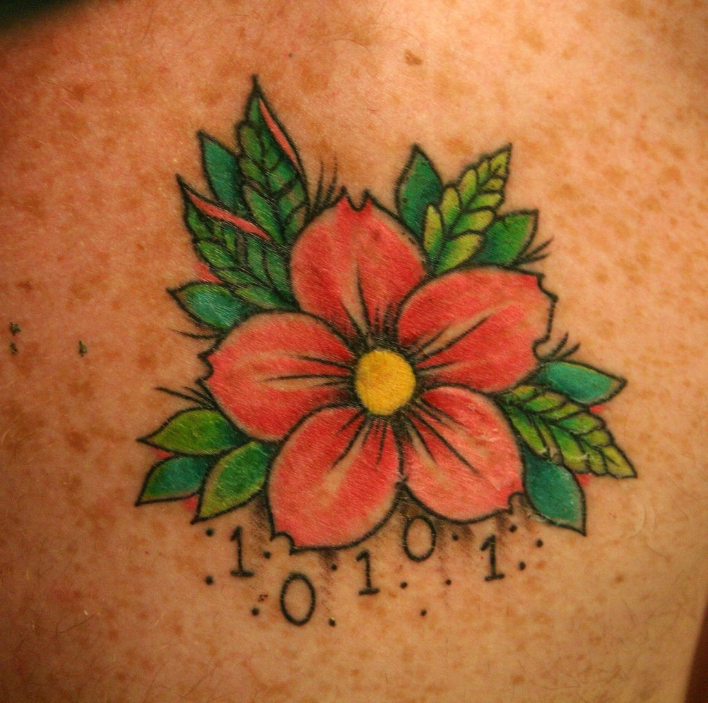Narcissus Flower TattoosSmall