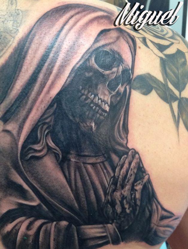 Santa Muerte Mexican Tattoo Design Photo - 1 - All Tattoos