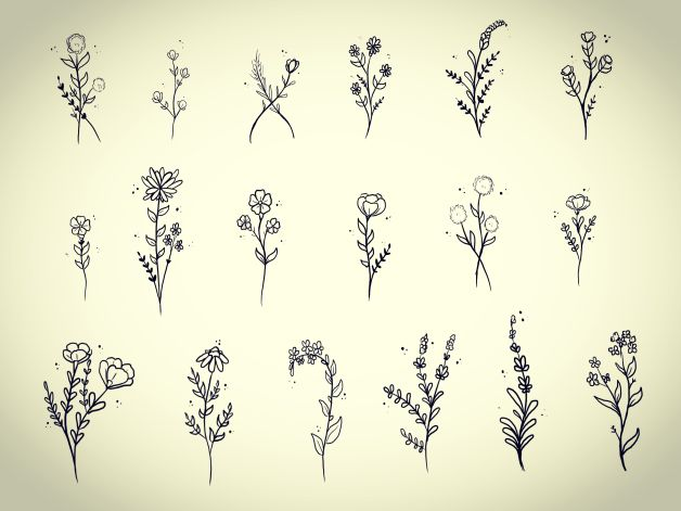 Small Flower Tattoo Designs Photo 1 All Tattoos For Men