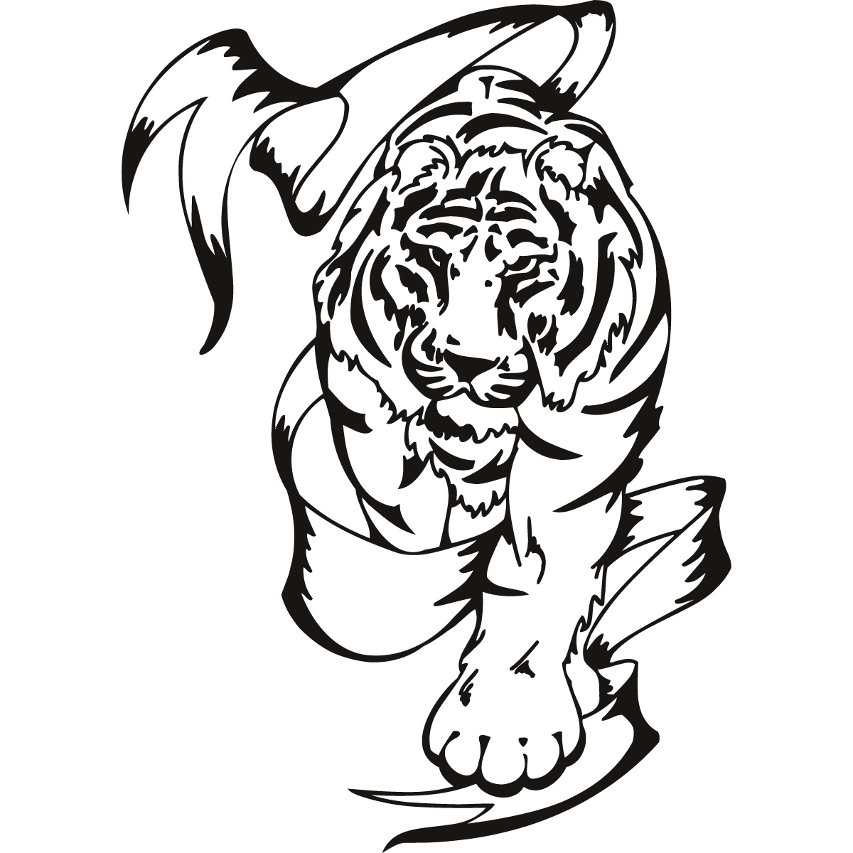 Large Tiger Tattoo Designs Www Miifotos Com