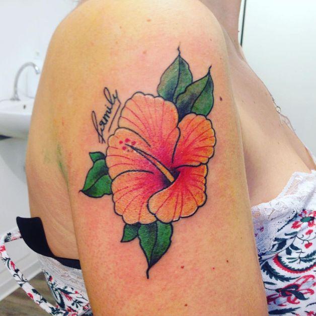 Yellow flower tattoo design mightylinksfo