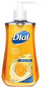 Dial Antibacterial Liquid Hand Soap, Gold, 7.5 Ounce