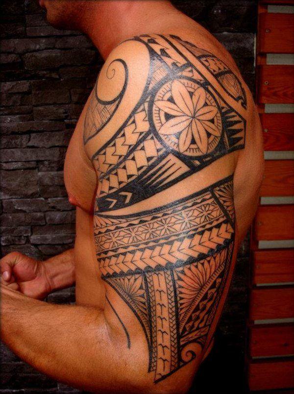 maori biceps tattoo for men. Black Bedroom Furniture Sets. Home Design Ideas