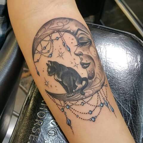 Explore Celestial Tattoo, Crescent Moon Tattoos and more!