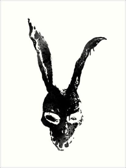 frank the rabbit donnie darko tattoo stencil