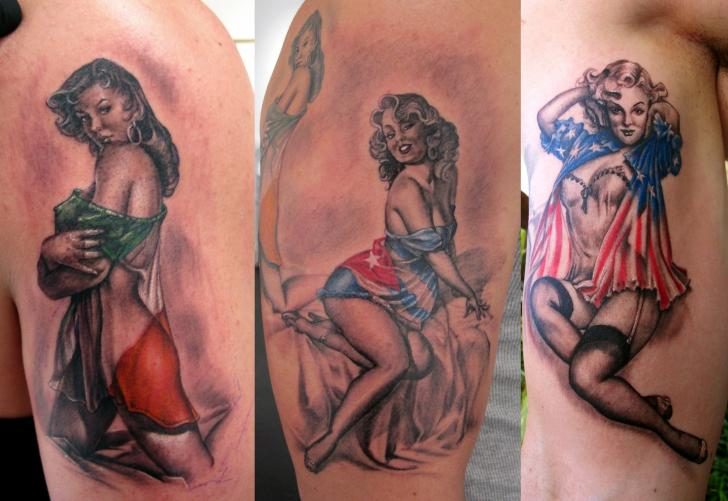 American Pin Up Tattoos 2