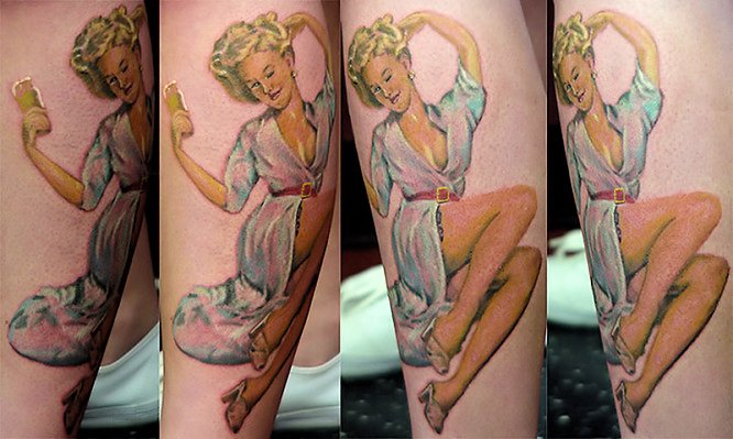 American Pin Up Tattoos