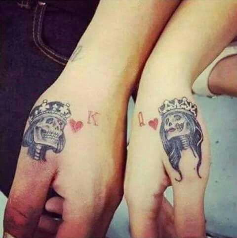 King and Queen Tattoos 4