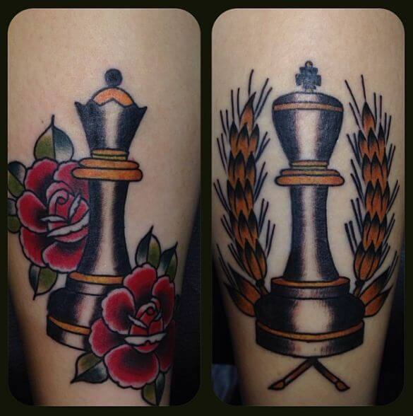 King and Queen Tattoos 5