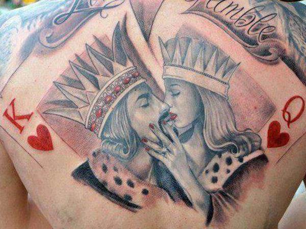 Meaning of King and Queen Tattoos