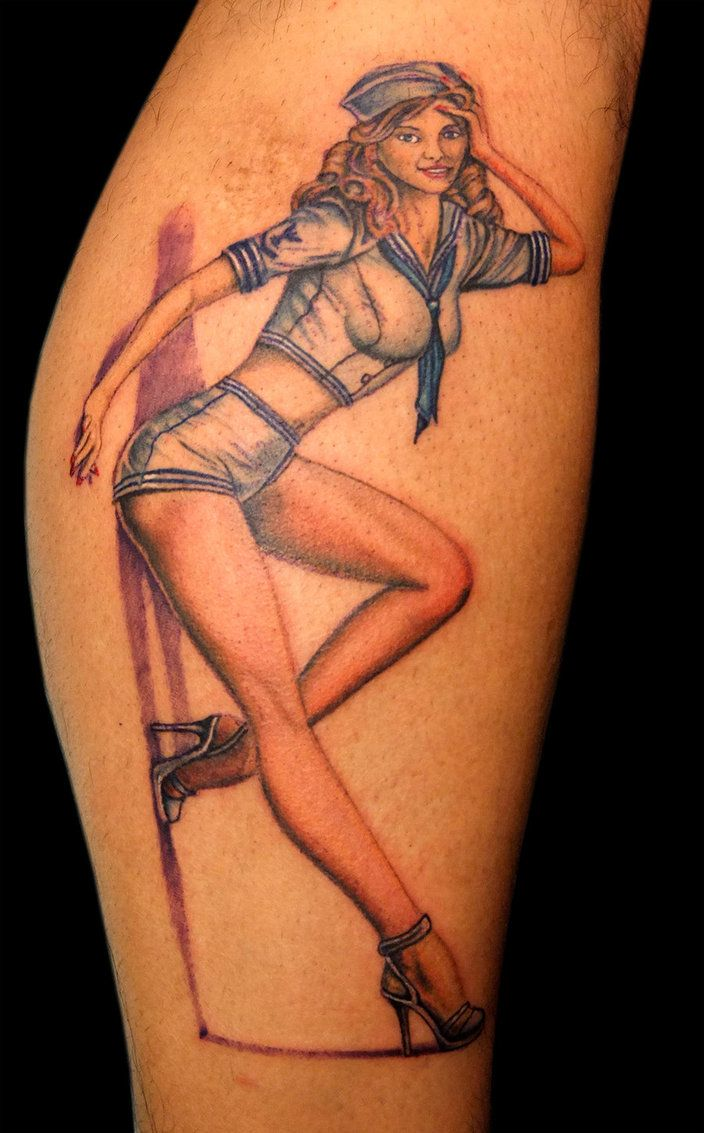 Over the years different Pin-up girl tattoo categories have