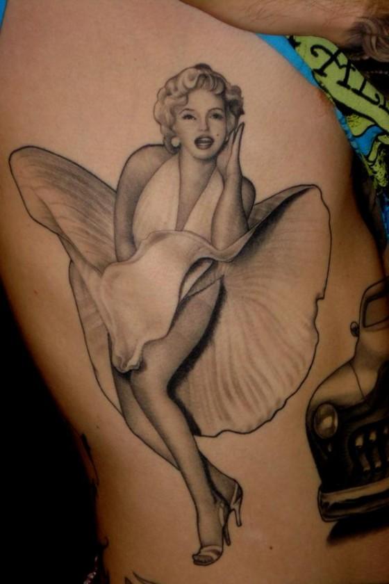 Pin Up Girl Tattoo 3