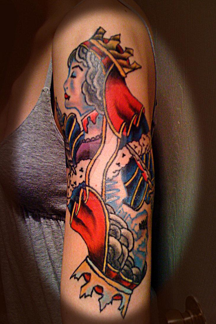 Queen of Hearts by InkFink