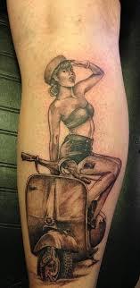 Rockabilly Pin Up Girl Tattoo 3