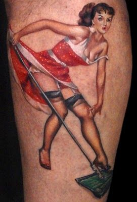 i want to get a pinup girl tattoo