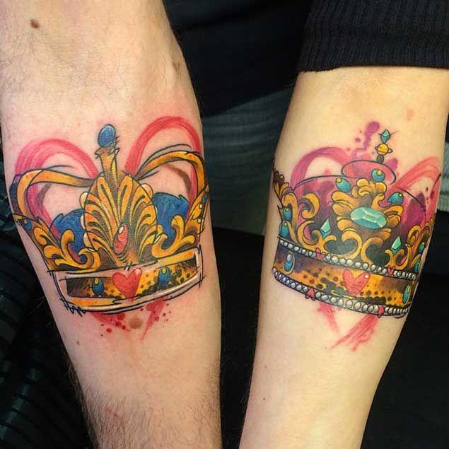 #king #queen #tattoo #tattoos #ideas #designs #men #formen