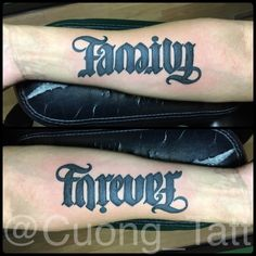 upside down family forever ambigram more art ambigrams families tattoo