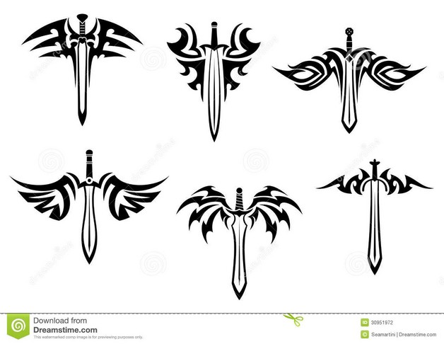 A Dagger Tattoo Design photo - 1