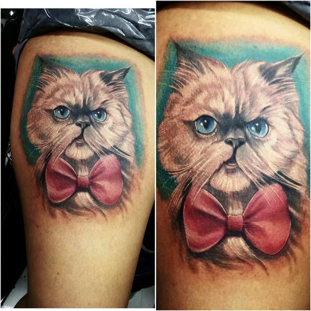 Amazing Cat Tattoo Designs photo - 1
