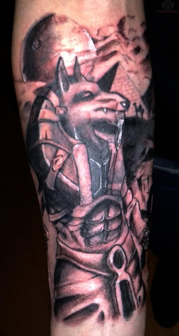 Amazing Lord Buddha Asian Tattoo For Leg photo - 1