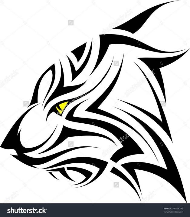 Amazing Tiger Face Tattoo photo - 1