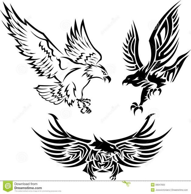 American Eagle Tattoo On Arm photo - 1