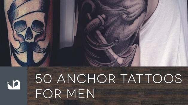 Anchor Tattoo On Biceps For Men photo - 1