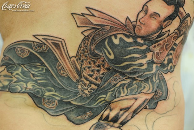 Asian Backpiece Tattoo photo - 1