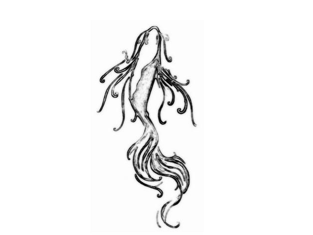 Asian Fish Tattoo Design For Women photo - 1
