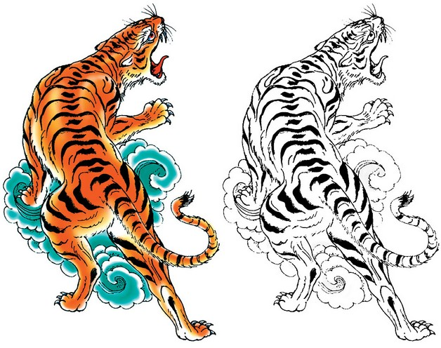 Asian Tattoo Designs For Men