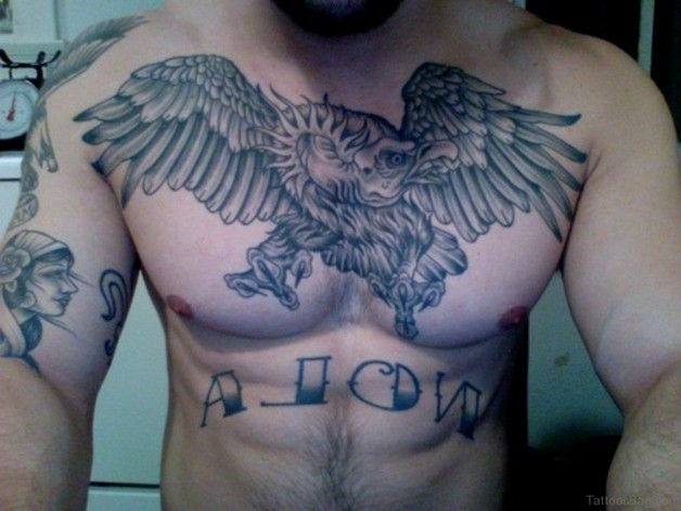 Awesome American Eagle Tattoo Design photo - 1