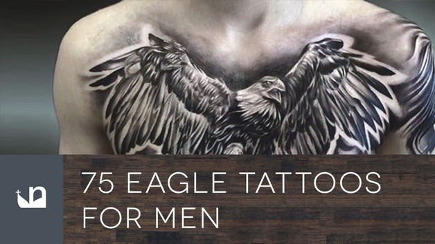 Awesome Eagle Tattoo On Back photo - 1