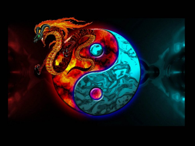 Awesome Ying Yang Tattoo photo - 1