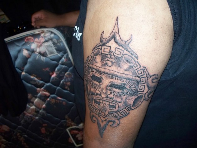 Aztec Tattoo For Biceps photo - 1