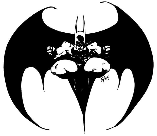 Batman Symbol Hand Tattoo Design photo - 1