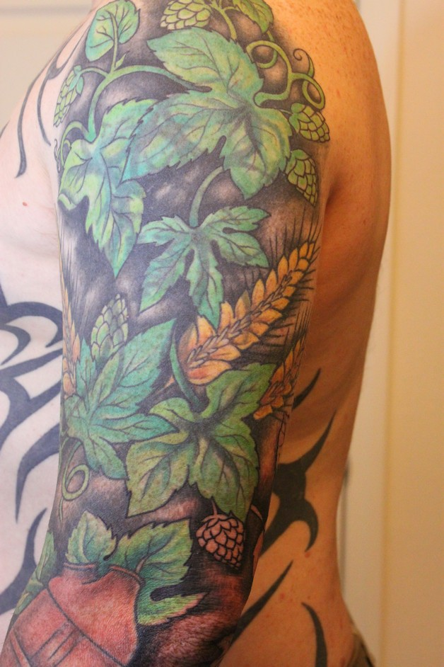 Beer Glass Tattoo For Guys photo - 1