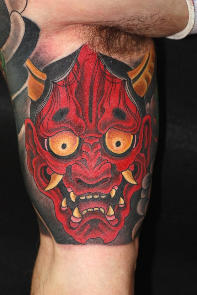 Biceps Red Tattoo photo - 1