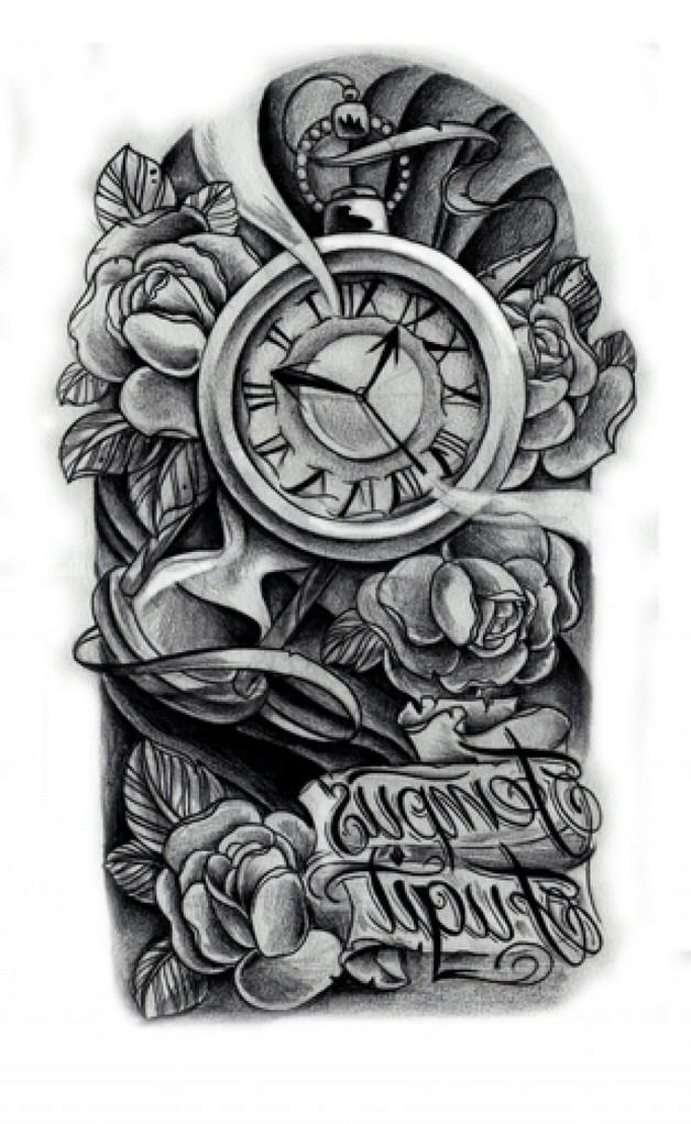 Biomechanical Magnifying Glass Tattoo Design photo - 1