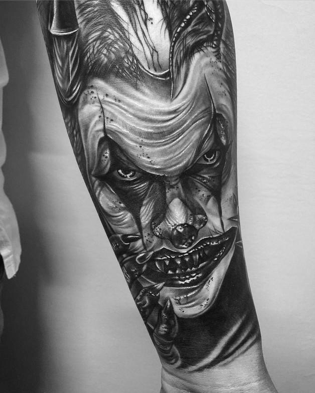 Black n White Hand Tattoo Designs For Guys photo - 1